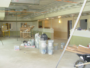 Photo of one of Standard Drywall's commercial drywall installation projects
